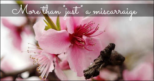 It Was More Than 'Just A Miscarraige'