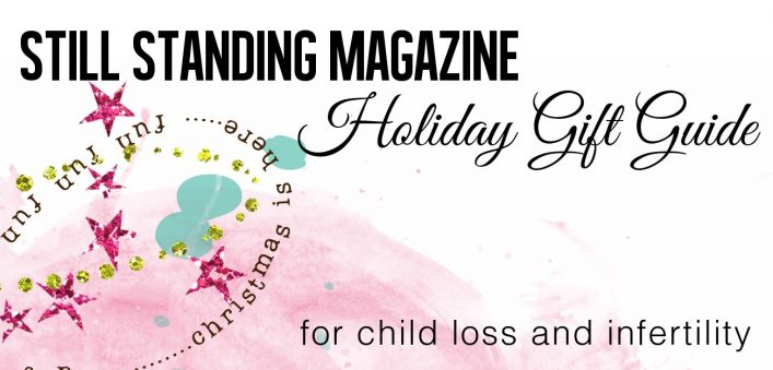 Holiday gift guide for the child loss community and infertility community