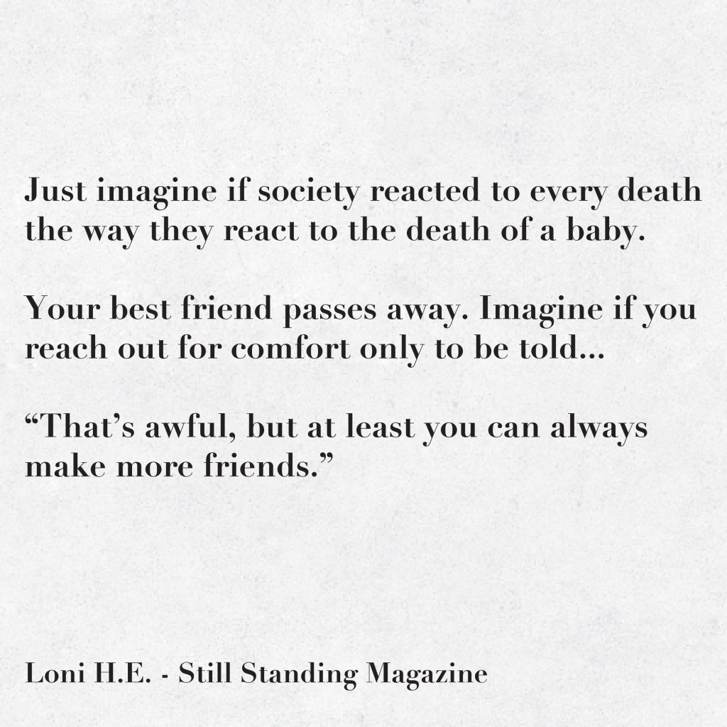 My Best Friend Died Suddenly Quotes: Society's Reaction When A Baby Dies