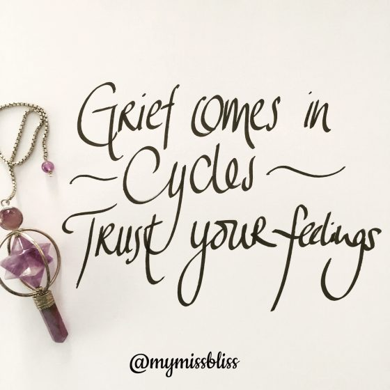 Grief comes in Cycles - Grief Support by www.grievingparents.net