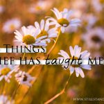 Six Things Grief Has Taught Me