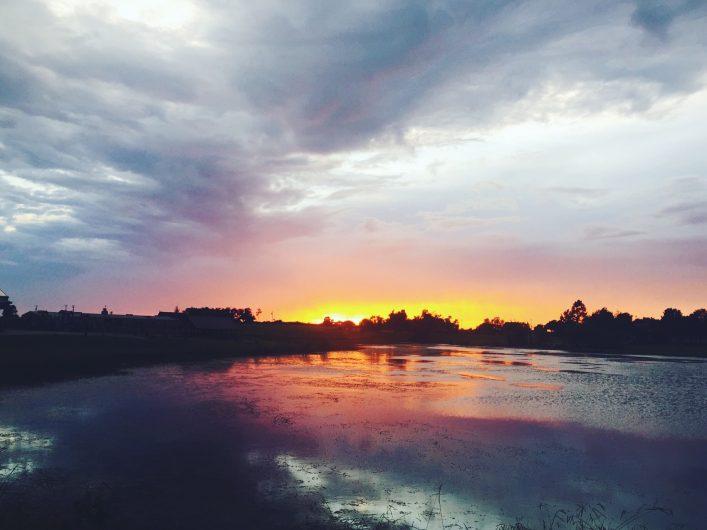 Sunset at Camp Cullin