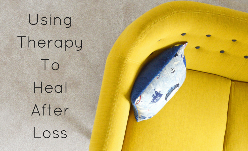 Therapy is an important tool in healing after the heartbreak of loss.
