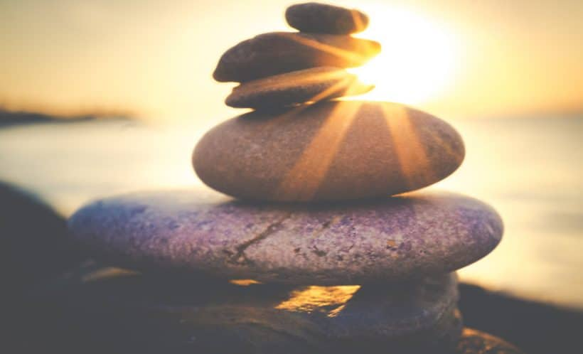 Balancing grief and life
