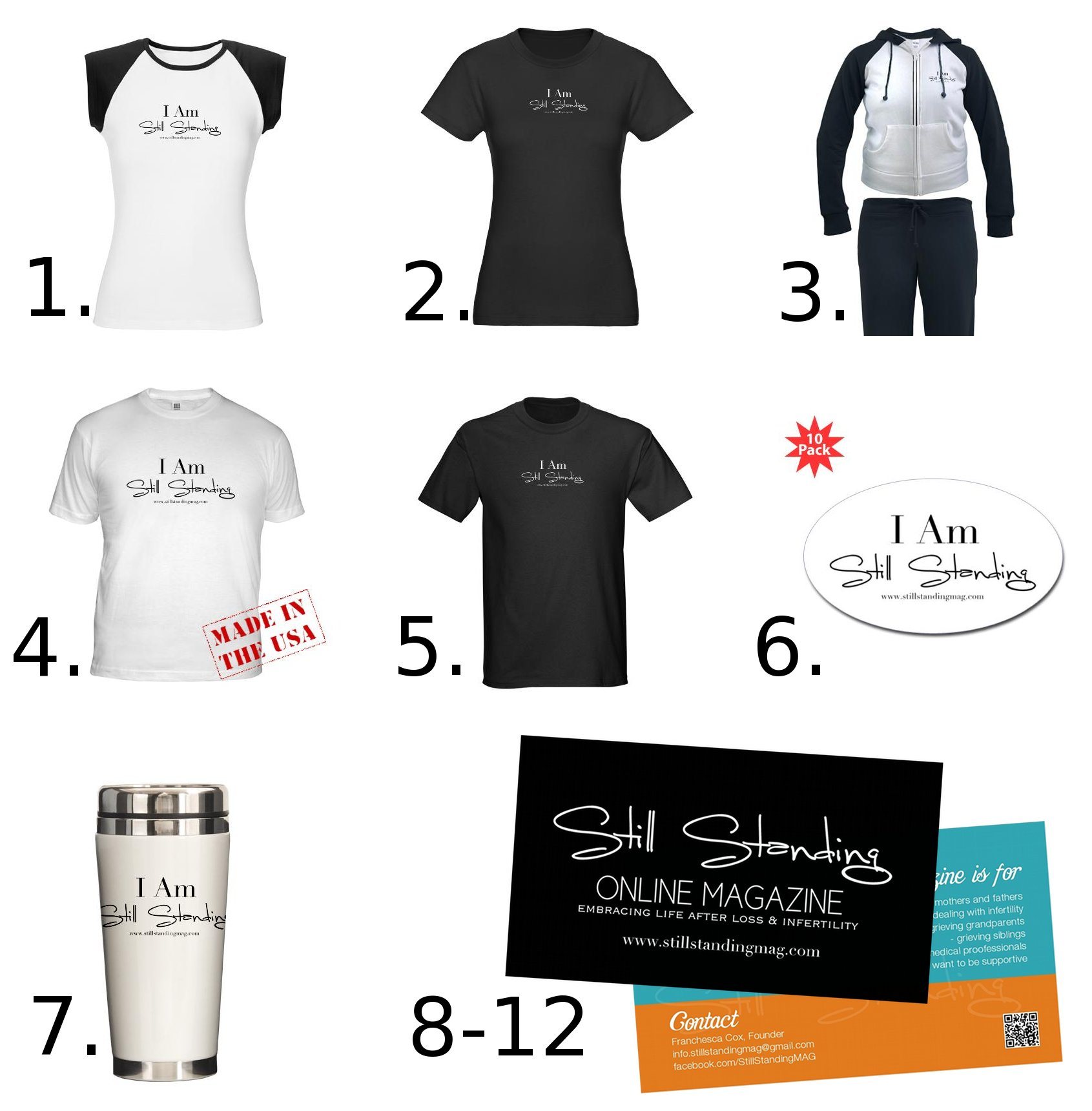 Our Merchandise Shop is LIVE! (and that means a giveaway for you!)