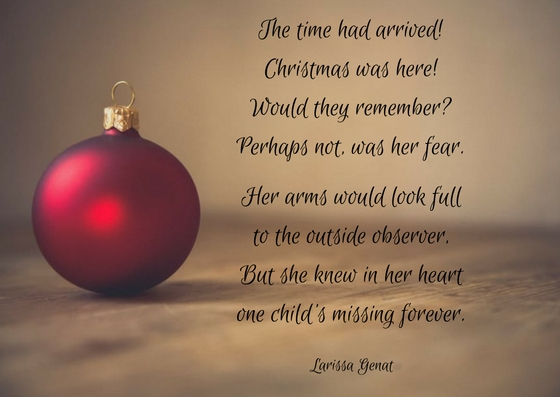 Missing Mom At Christmas.Twas The Night Before Christmas Bereaved Mom