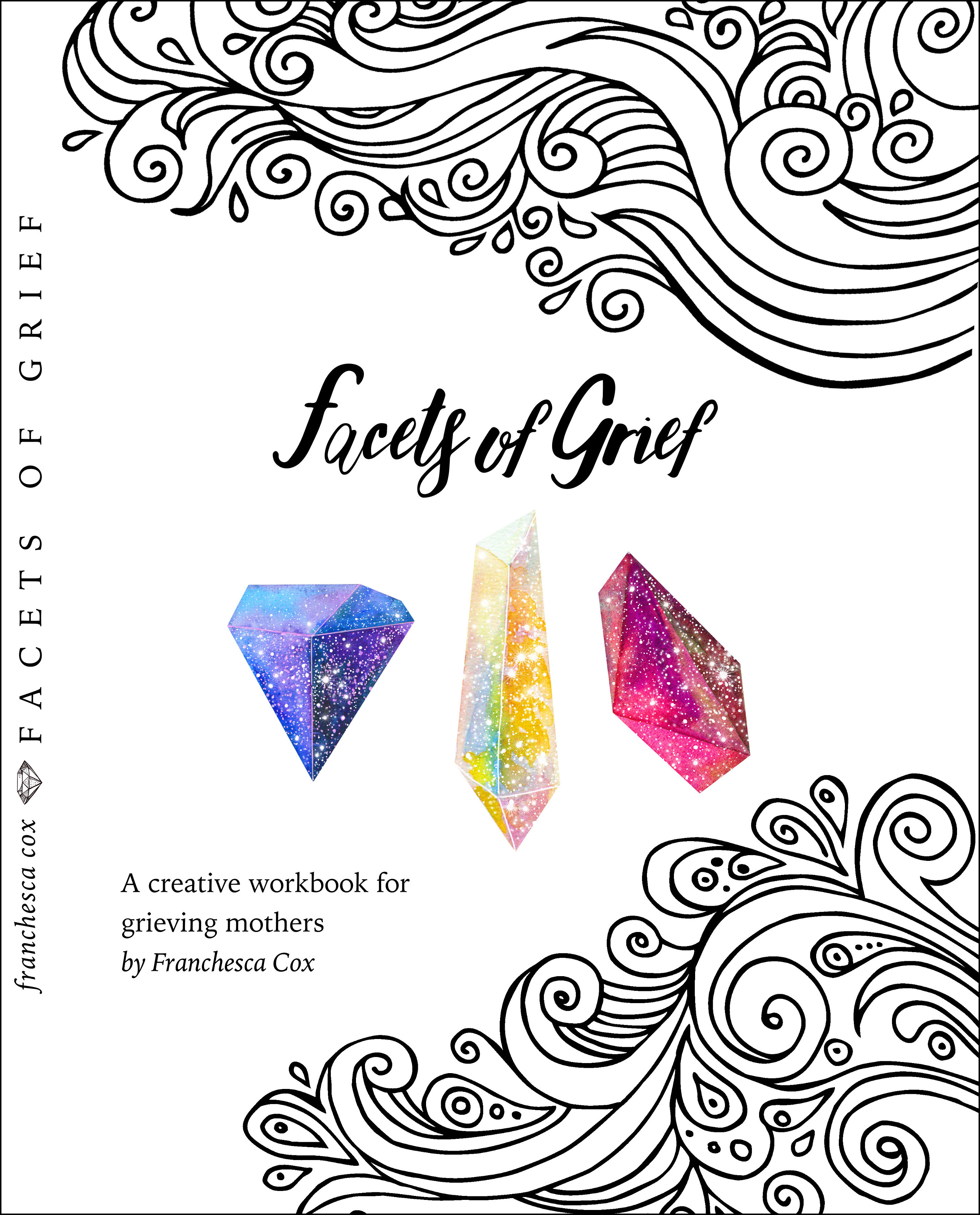 Facets of Grief Creative Workbook GIVEAWAY