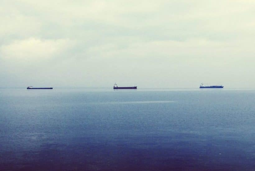 ships on the water