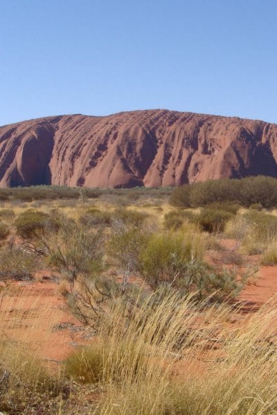 Australia's Uluru, or Ayer's Rock