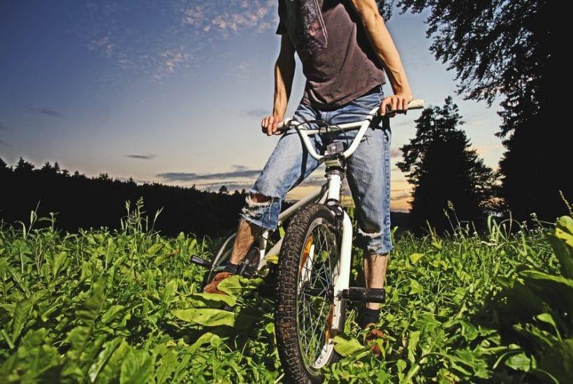 boy on bike, boy, bike