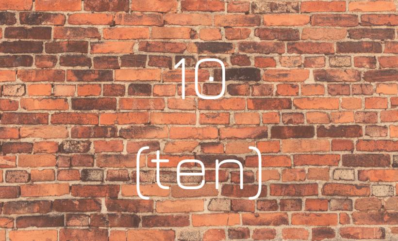 10 (ten) A Decade