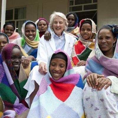 Founder of the Hamlin Fistula Hospital in Addis Ababa, Ethiopia, Dr Catherine Hamlin